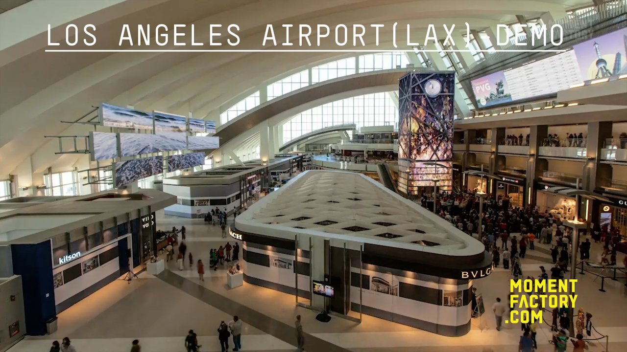 LAX AIRPORT INSTALLATION